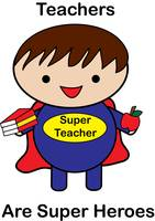 Teacher Male Super Hero