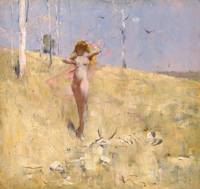 Arthur Streeton~The spirit of the drought