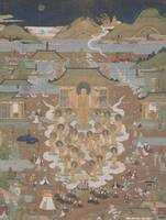 Artist Unknown, Japan~Taima Temple Mandala Amida W