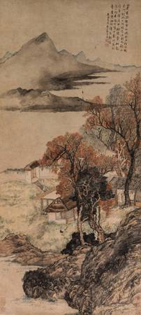 Cai Jia (Chinese, 1686-1756)~Autumn Waters and Eve