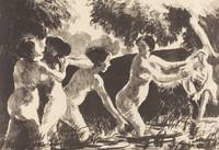 Camille Pissarro~Bathers Wrestling (Baigneuses lut