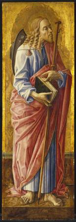 Carlo Crivelli~Saint James Major, part of an altar