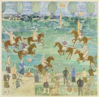 Charles Prendergast~Polo Players No. 2