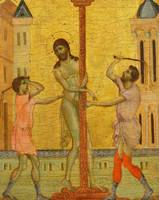 Cimabue~The Flagellation of Christ