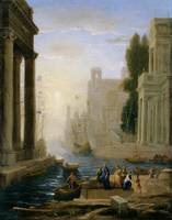 Claude Lorrain~Embarkation of St Paula