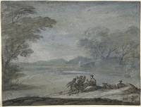 Claude Lorrain~The Rest on the Flight into Egypt