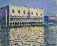 Claude Monet~The Doge's Palace (Le Palais ducal)