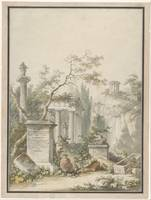 Claude-Louis Châtelet~Design for a Frontispiece