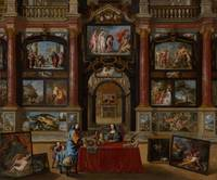 Coques, Gonzales~Interior with Figures in a Pictur