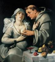 Cornelis van Haarlem~A Monk and a Nun