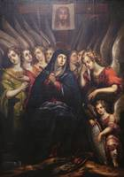 Cristóbal de Villalpando~Virgin of Sorrows