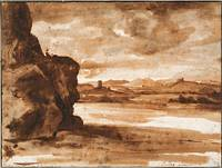 Crod Lorraine~Tiber Landscape North of Rome with D