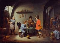 David Teniers the Younger~Teniers Gambling Scene a