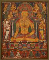 early 14th century~Buddha Ratnasambhava with Wealt