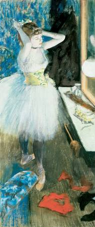 Edgar Degas~Dancer in Her Dressing Room