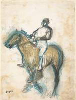Edgar Degas~Jockey