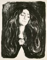 Edvard Munch~The Brooch. Eva Mudocci