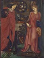 Edward Burn-Jones~Fair Rosamund and Queen Eleanor