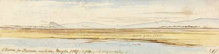 Edward Lear~San Marino from Ravenna