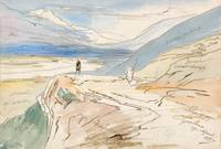 Edward Lear~Tepelene, 19 April 1857