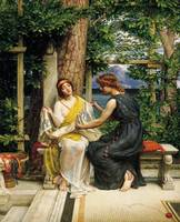 Edward Poynter~Helena and Hermia