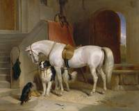 Edwin Landseer~Favourites, the Property of H.R.H.