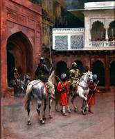 Edwin Lord Weeks~Indian Prince, Palace of Agra