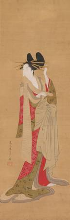 Eishi~Hanging scroll