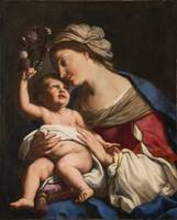Elisabetta Sirani~Virgin and Child