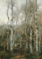 Emilio Sánchez Perrier~Winter in Andalusia (Poplar
