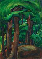 Emily Carr~Western Forest