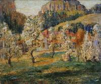 Ernest Lawson~May in the Mountains
