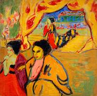 Ernst Ludwig Kirchner~Japanese Theatre