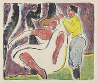 Ernst Ludwig Kirchner~Russian Dancers