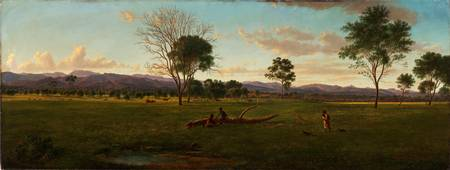 Eugene von Guerard~View of the Gippsland Alps, fro