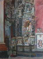 Federico Godoy~Inside the church of Santo Domingo