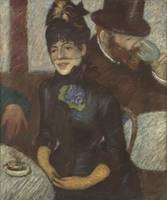 Federico Zandomeneghi~At the cafè (Femme au bar)