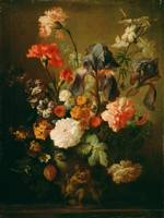 Follower of Jan van Huysum (Dutch, 1682 - 1749)~Va