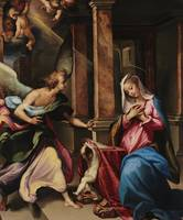 Francesco Curia~The Annunciation