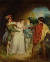 Francis Whitley~Valentine rescuing Silvia from Pro