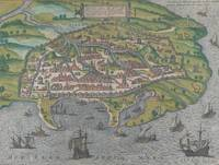 Frans Hogenberg~Map of Alexandria