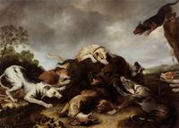 Frans Snyders and workshop~The boar hunt