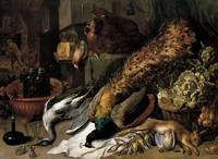 Frans Snyders~Still Life with a Wine Cooler