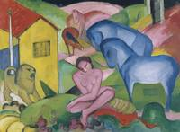 Franz Marc~The Dream