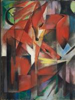 Franz Marc~The Foxes