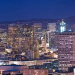 """San Francisco at night Panorama"" by canbalci"