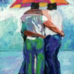 """Happy Rain bears - Autumn by RD Riccoboni"" by RDRiccoboni"