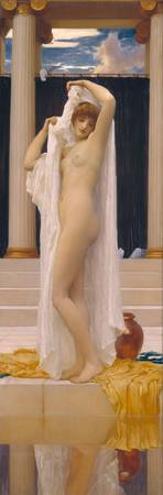 Frederic Leighton~The Bath of Psyche