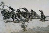 Frederic Remington~Capt. Grimes's Battery Going Up