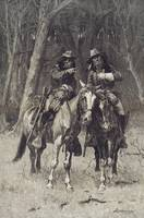 Frederic Remington~Cheyenne Scouts Patrolling the